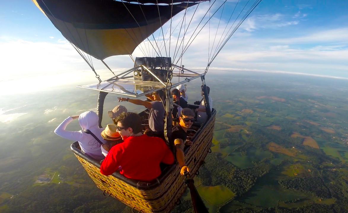 passeio de balão curitiba deniel rocha aventura