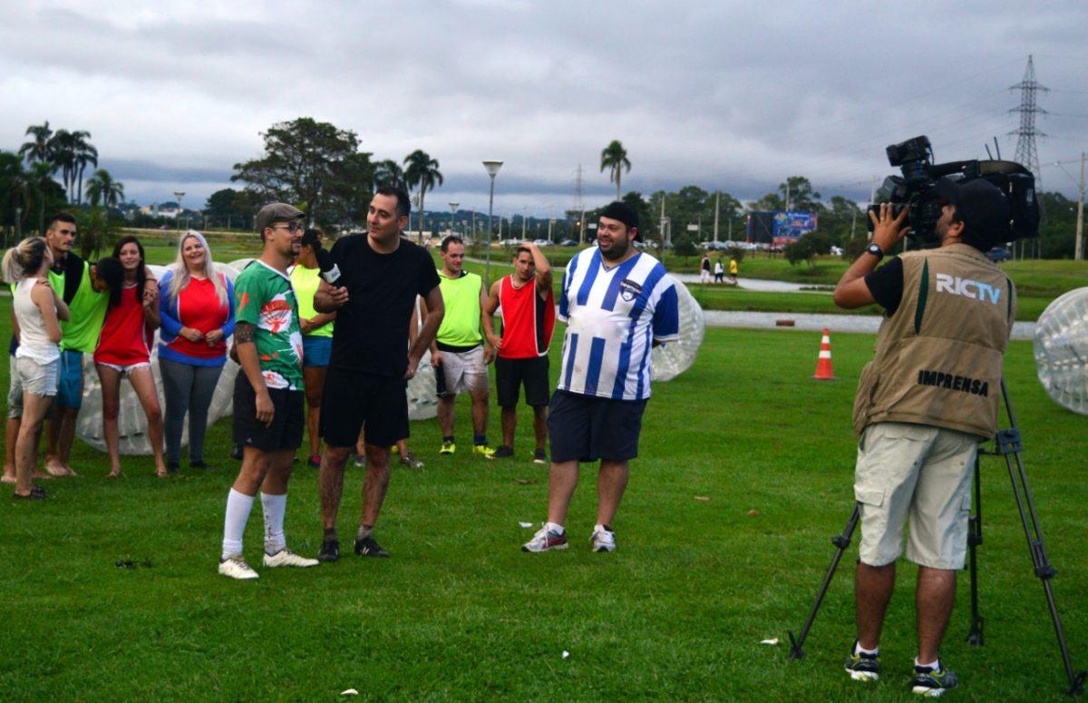 Futebolha em Curitiba